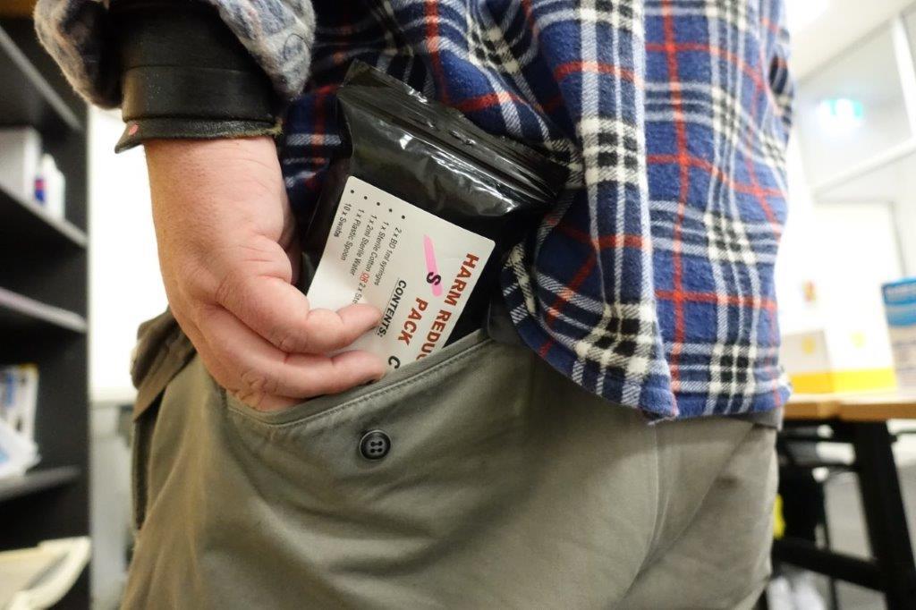 HR pack pocket
