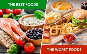 good food bad food